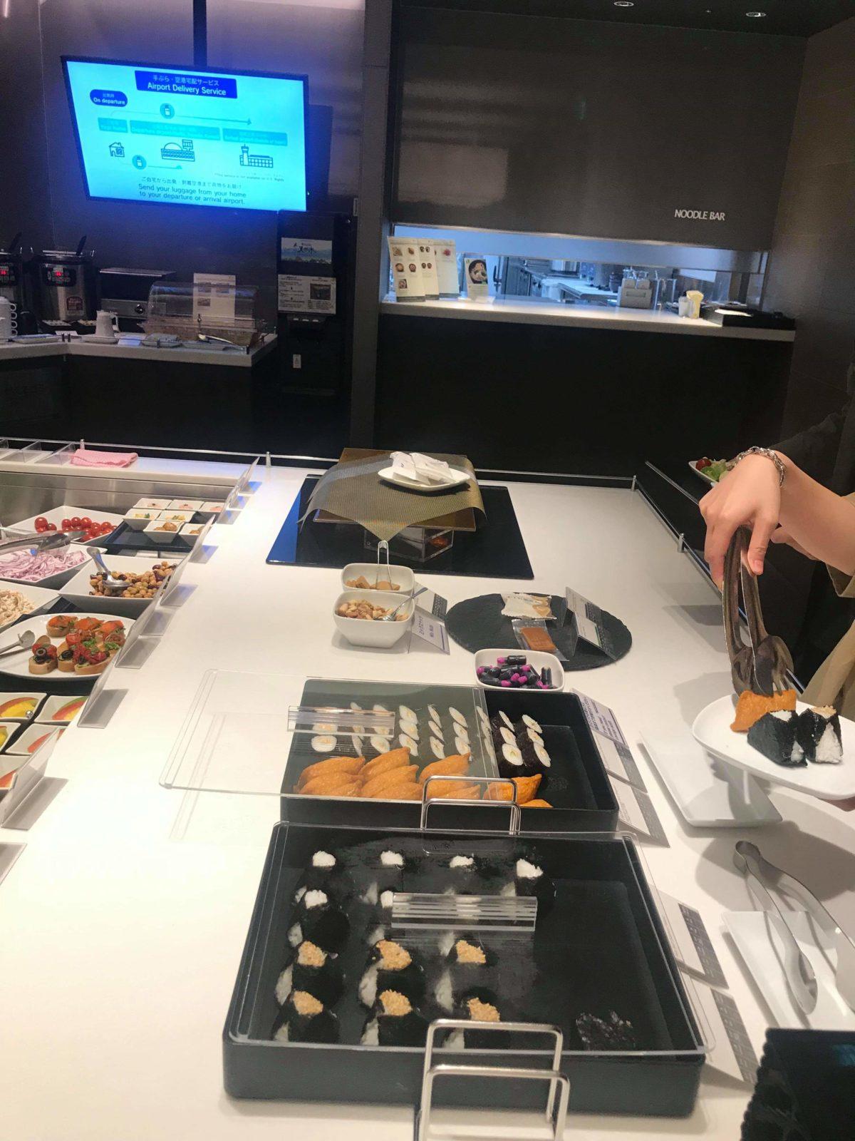 ana羽田のスィートラウンジ「Dining h」